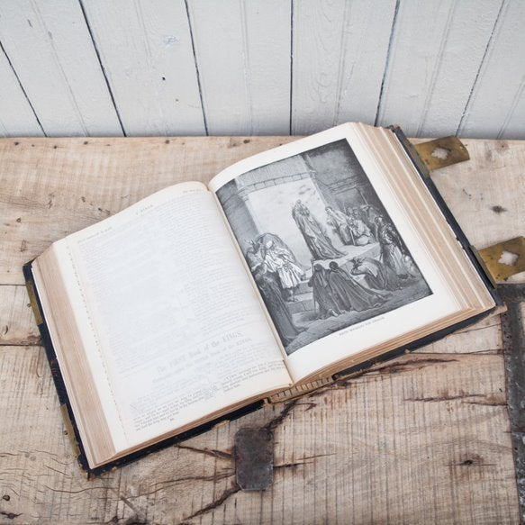 Vintage Pictorial Family Bible