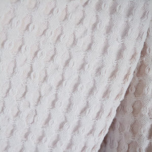Pale Pink Cotton Throw