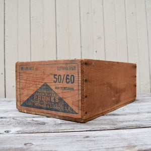 Santa Clara Prune Crate by Libby's