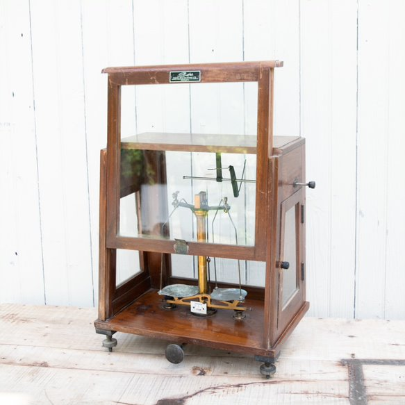 Vintage Enclosed Balance Scale