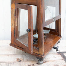 Load image into Gallery viewer, Vintage Enclosed Balance Scale