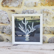 Load image into Gallery viewer, Coral Print on Navy by Kolene Spicher
