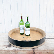Load image into Gallery viewer, Wine Barrel Banded Lazy Susan