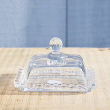 Load image into Gallery viewer, Petite Glass Butter Dish