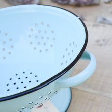 Load image into Gallery viewer, Enamelware Colander