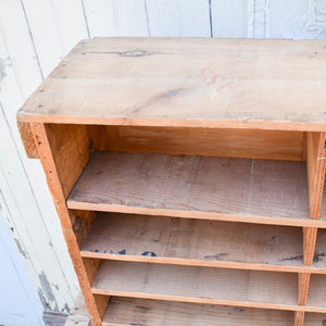 Wooden Cubby Box