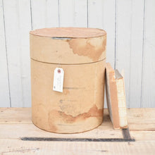 Load image into Gallery viewer, Oversized Vintage Cardboard Cylinder