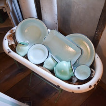 Load image into Gallery viewer, Large Enamelware Basin