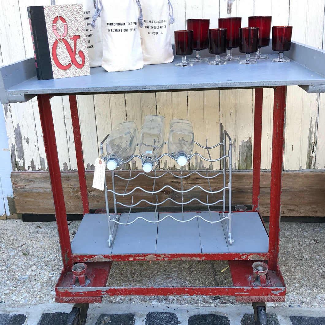 Portable Beverage Cart