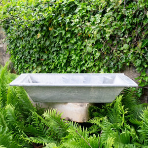 Oversized Zinc Trough