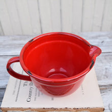 Load image into Gallery viewer, Enamelware Batter Bowl in Red