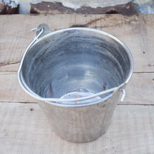 Load image into Gallery viewer, Aluminum Vintage Pail
