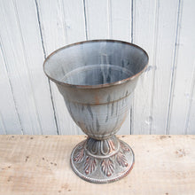 Load image into Gallery viewer, Metal Urn Vase