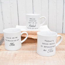 Load image into Gallery viewer, Stoneware Tea Mugs