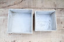 Whitewashed Wooden Box
