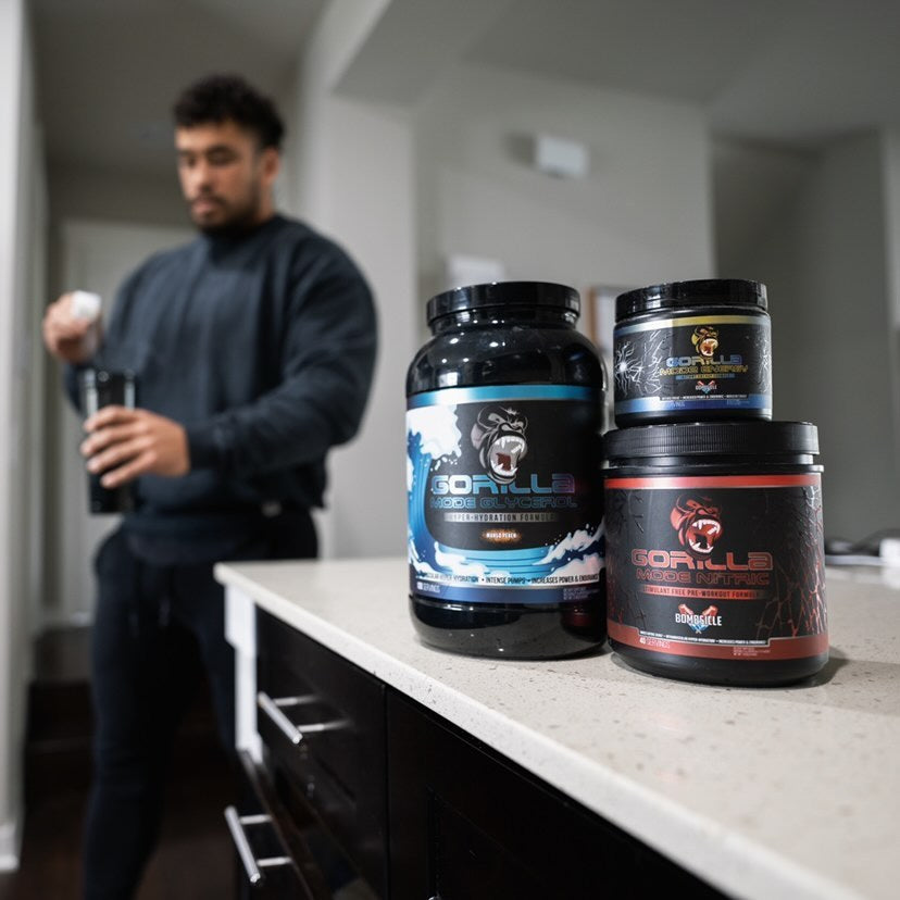 The Ultimate Pre-Workout Stack