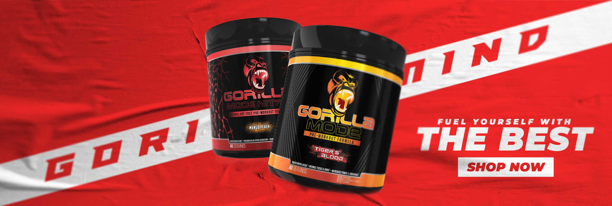 Gorilla Mind | Refuel yourself with the best | SHOP NOW