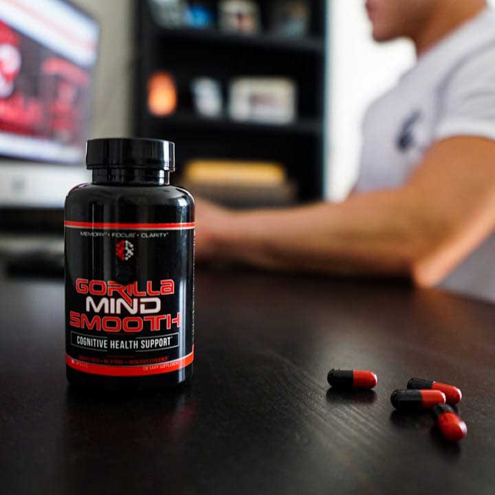 Gorilla Mind Smooth on Desk Instagram