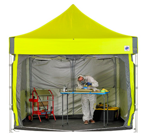 PORTABLE TENTS FOR TESTING CORONA VIRUS AVAILABLE HERE IN STOCK AND READY TO SHIP SAME DAY!