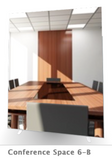 "The Conference Space - 72"" x 95.25"" Elite Graphic Wall (also wall mountable)"