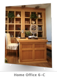 "Home Office Chic - 72"" x 95.25"" Elite Graphic Wall (also wall mountable)"