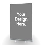 "(Custom Design) 48"" x 79"" Retractable Banner Stands"