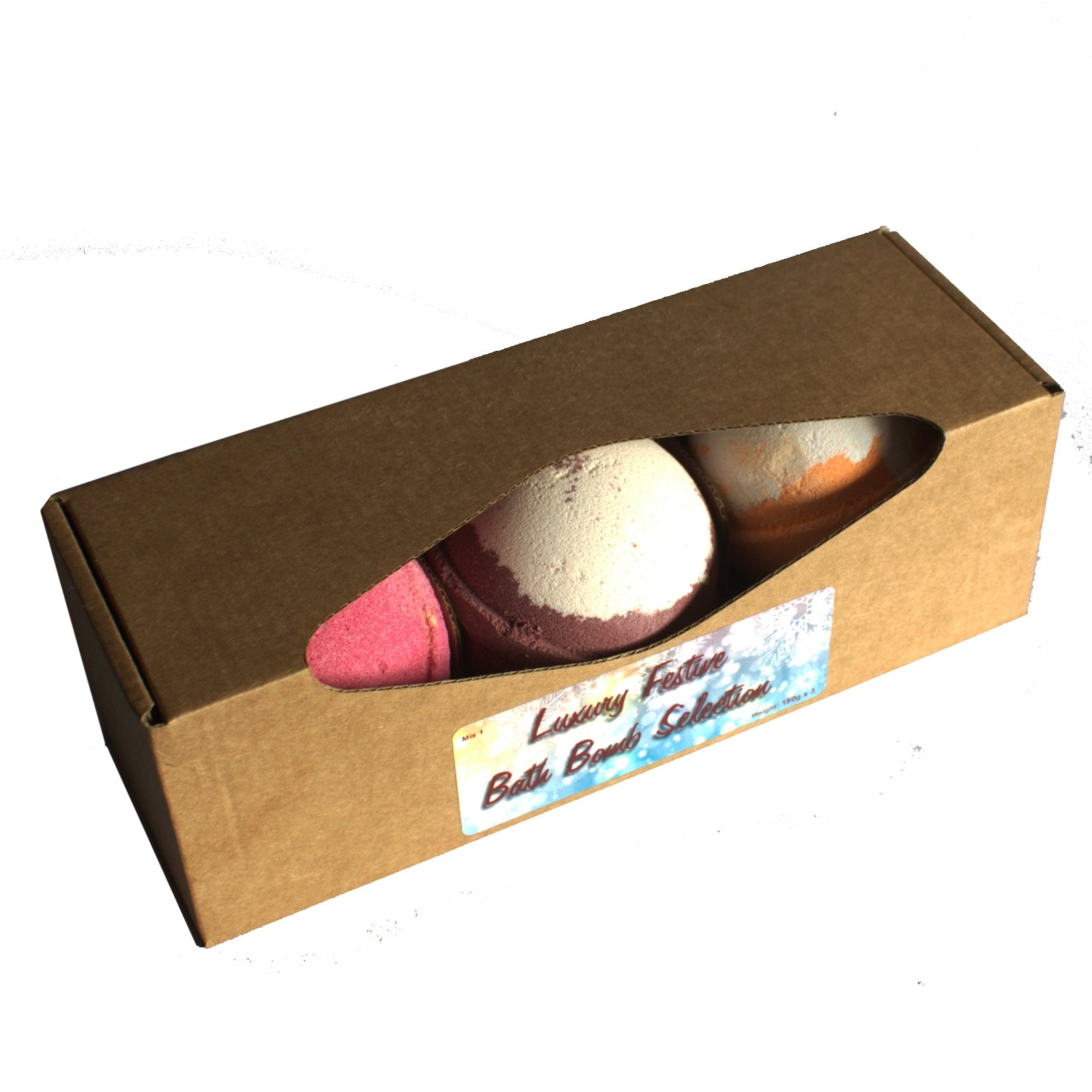 Luxury Festive Bath Bomb Mix 1
