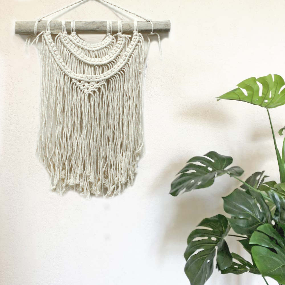 Macrame Wall Hanging - Three Waves