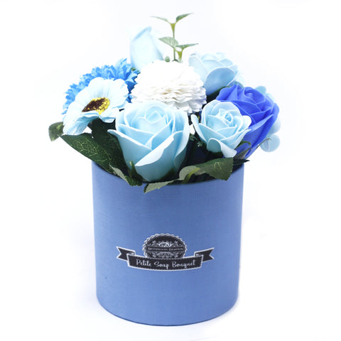 Bouquet Petite Gift Pot- Soothing Blues