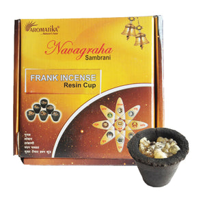 Box of 12 Resin Cups - Frankincense