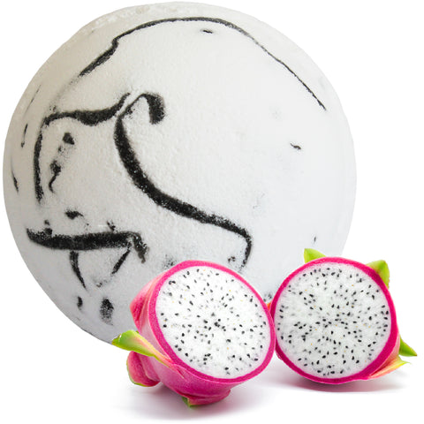 Tropical Paradise Coco Bath Bombs - Dragon Fruit
