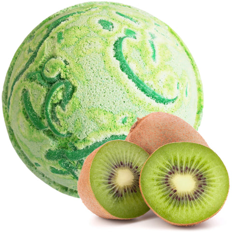 Tropical Paradise Coco Bath Bombs - Kiwi Fruit
