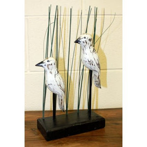 Wooden Art - Herons