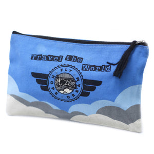 Classic Zip Pouch - Travel The World