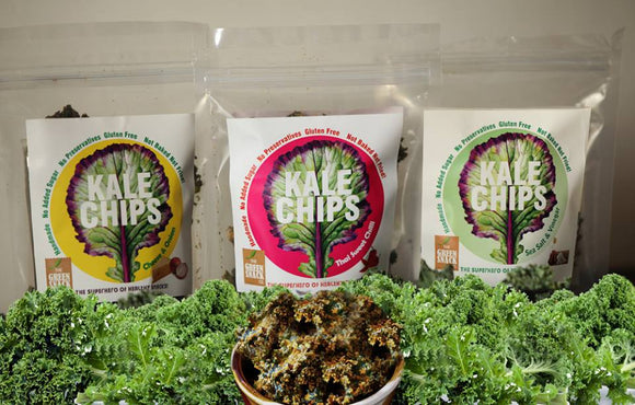 KALE CHIPS – The Superhero of Healthy Snacks!