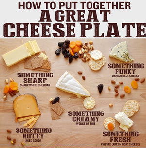 The Ideal Cheeseboard For Your Guests!!