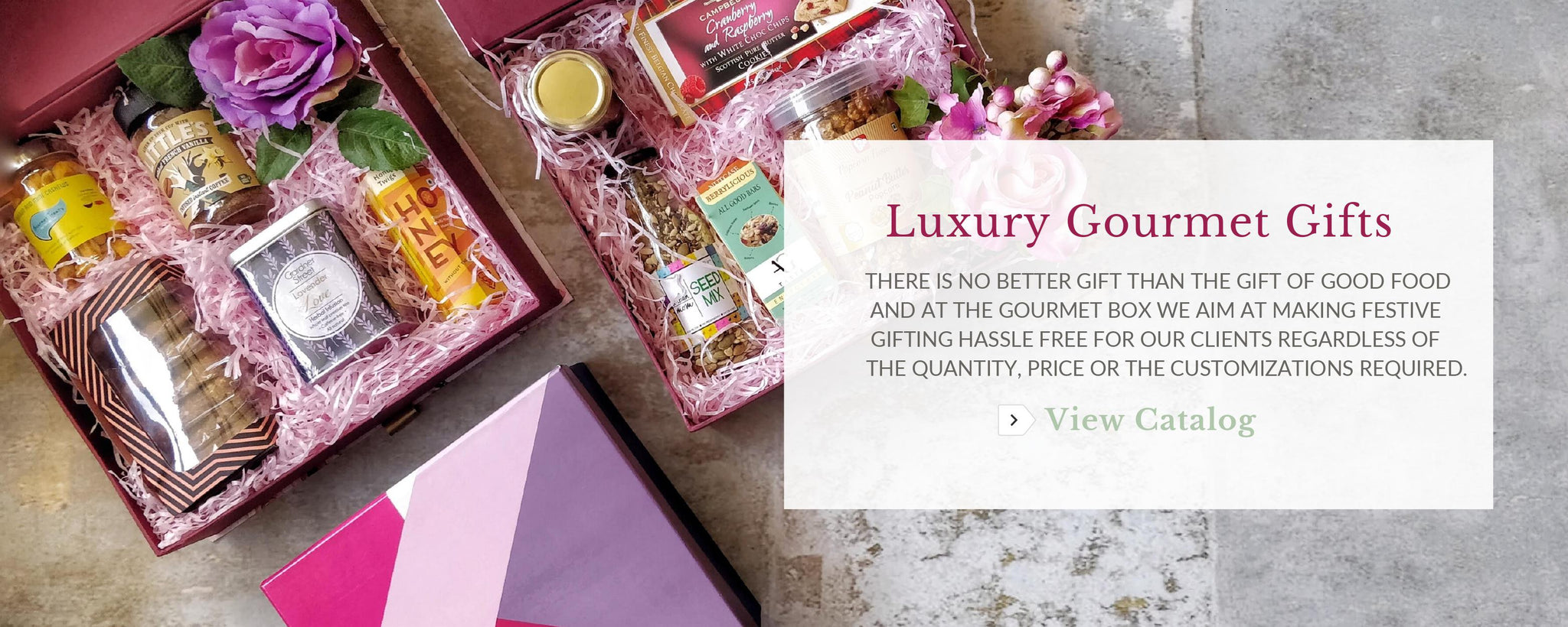 Corporate Gifts - The Gourmet Box