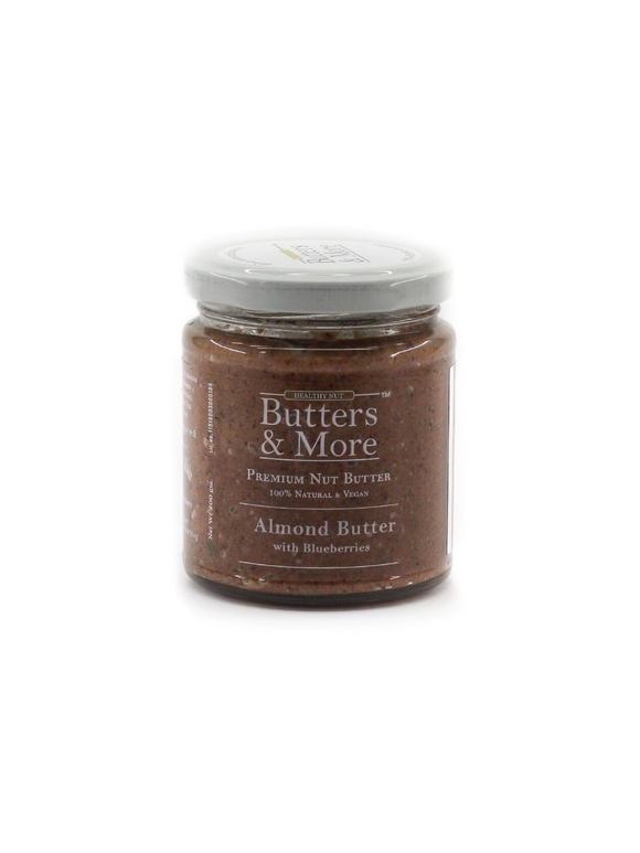 Almond Butter with Blueberries - 200g - Butters & More