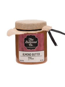 Flax Honey Almond Butter - 200g - The Butternut Co