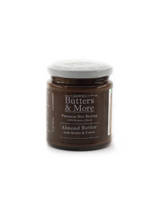 Keto Almond Butter with Cocoa & Stevia - 200g - Butters & More