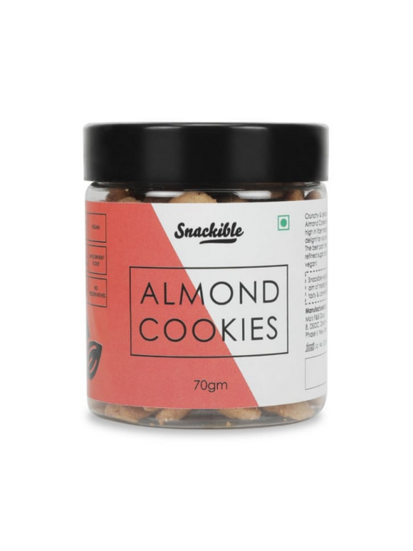Almond Cookies - 70g - Snackible