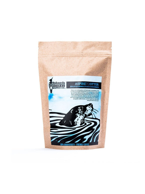 Aspire to Otter (Blend of Arabica & Robusta coffee) - 250g - Black Baza Coffee