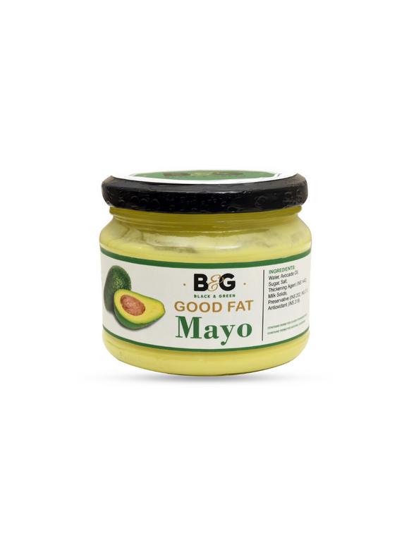 Extra Virgin Avocado Oil Classic Mayonnaise - 220g - Black & Green