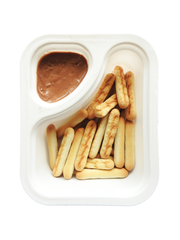 Biscuit Sticks with Butterscotch Dip - 30g - Snackible