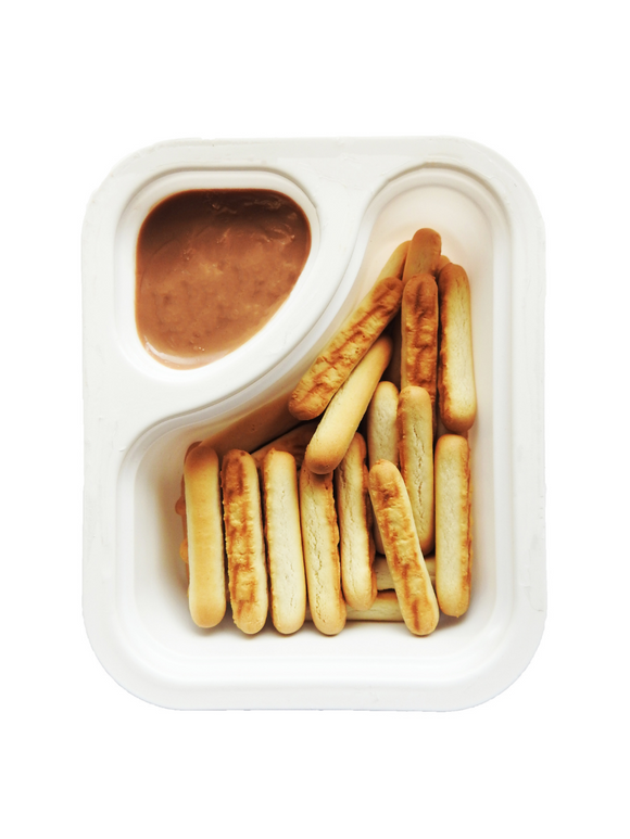 Biscuit Sticks with Caramel Dip - 30g - Snackible