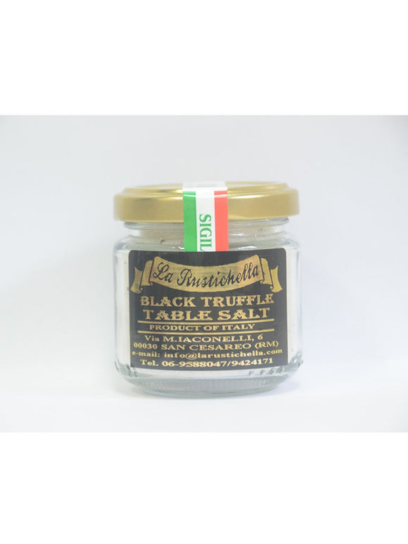 Black Truffle Table Salt - 110g - LaRustichella Truffles