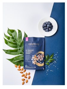 Blueberry Almond Crisps - 85g - Epiphany Snacks