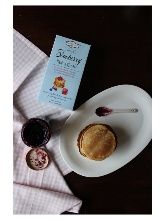 Classic Blueberry Pancake Mix - 185g - The Daily Gourmet