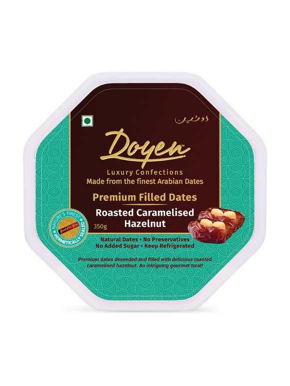 Caramelised Roasted Hazelnut Filled Dates - 350g - Doyen