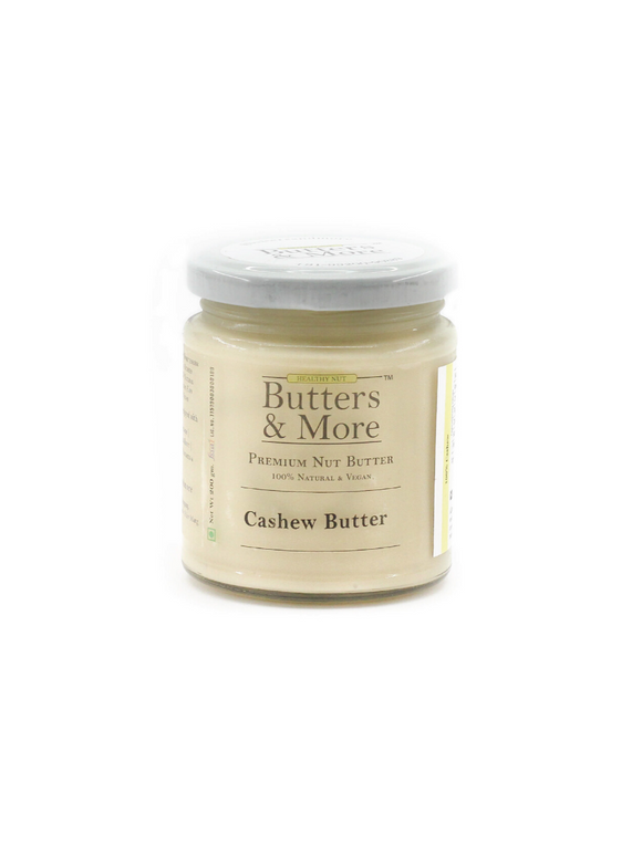 Natural Cashew Butter - 200g - Butters & More